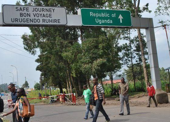 Rwanda Uganda entry points
