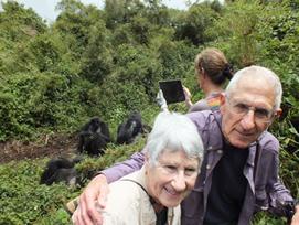 Gorilla Trekking for the elderly