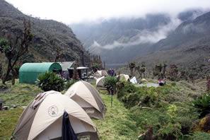 Wheere to sleep on Rwenzori Mountains