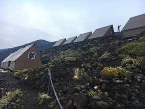 where to sleep in Virunga National Park