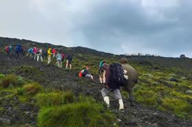 Hiking Nyiragongo
