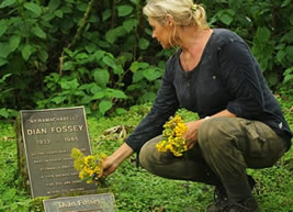 Hiking Dian Fossey Graveyard