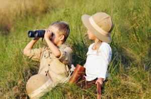 What to do with kids on a safari